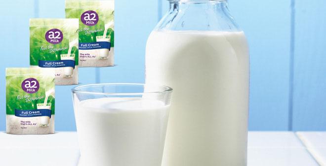 Sữa tươi nguyên kem dạng bột A2 Mẫu Mới
