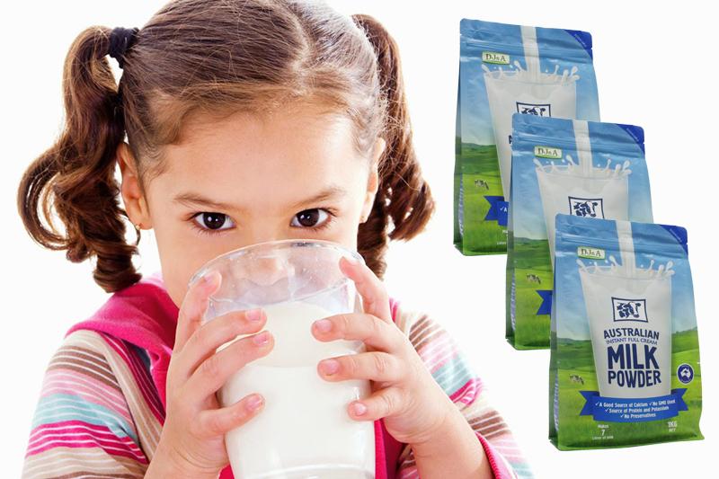 Sữa tươi dạng bột nguyên kem DJ&A 1kg