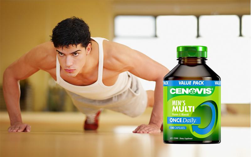 Đa vitamin khoáng chất Cenovis 125 viên cho nam giới