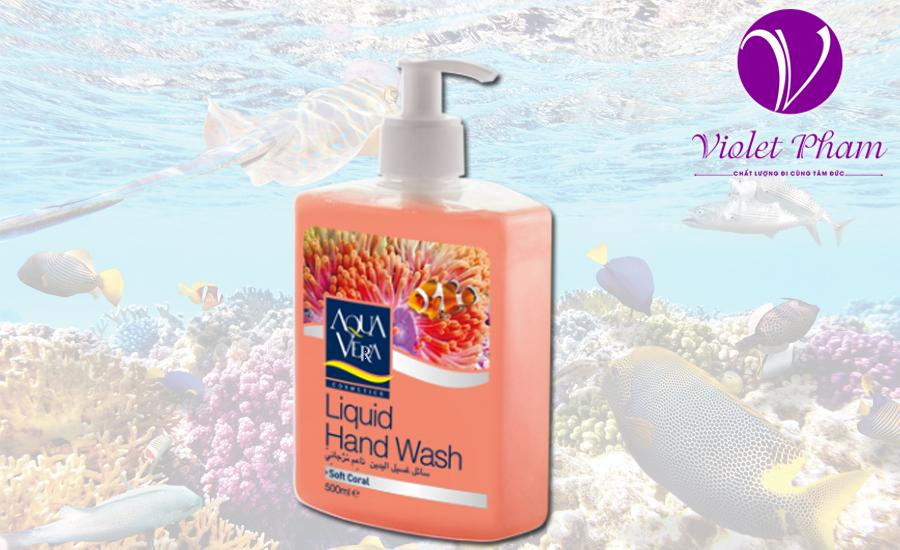 Nước rửa tay tinh chất san hô biển Aquavera 500ml