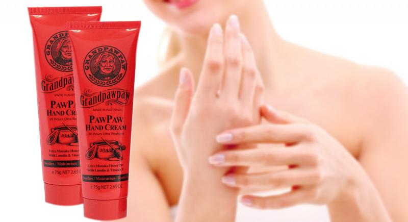 Paw Paw Hand Cream 75g giúp tay mềm mại, mịn màng