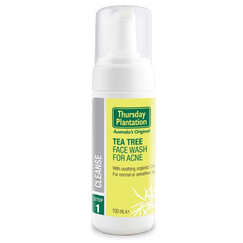 Sản phẩm có chiết xuất tinh dầu tràm trà tốt cho da mụn