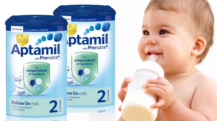 Sữa Aptamil số 2 Anh