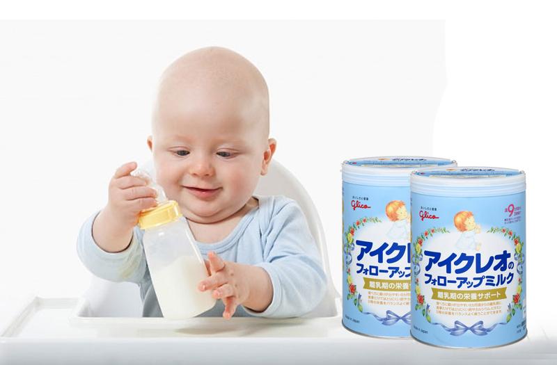 Sữa glico số 9 cho trẻ 9-36 tháng tuổi