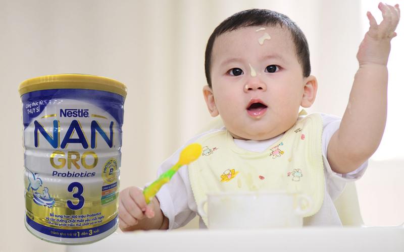Sữa Nan Gro 3 900g