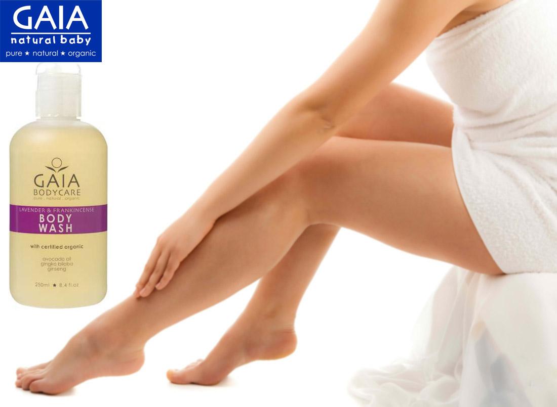 Sữa tắm hữu cơ GAIA Body Wash 250ml