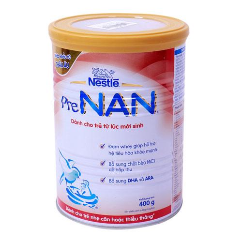 sữa bột cho trẻ thiếu tháng