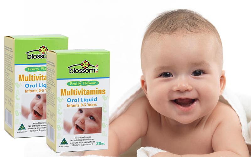 Thức uống đa Vitamin dành cho trẻ em