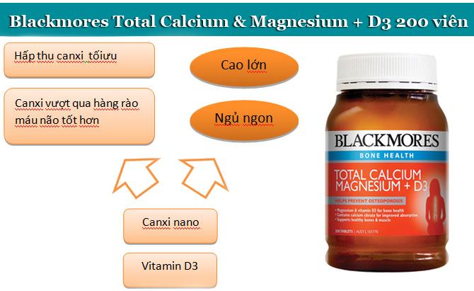 Blackmore total Calcium & Magnesium + D3