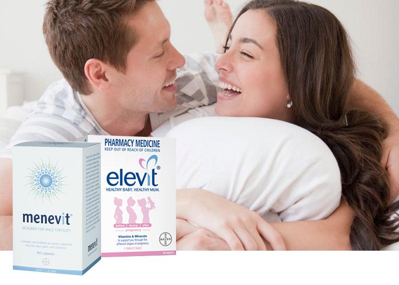 Thuốc hỗ trợ sinh sản nam giới Menevit 90 viên