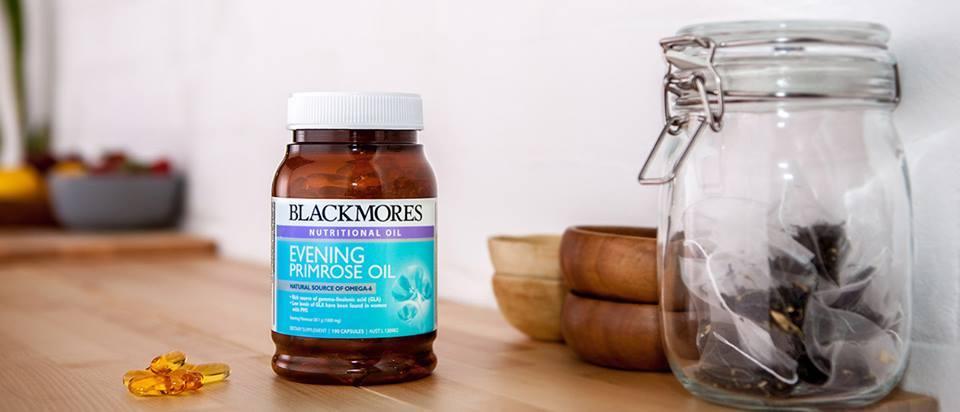 Tinh dầu hoa anh thảo Blackmore Evening promise oil 190 viên