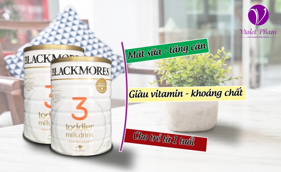 Sữa Blackmores Toddler Milk Drinkstage 3 cho bé từ 12 tháng tuổi