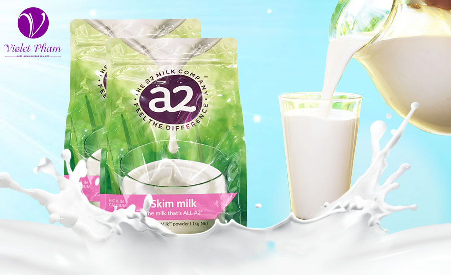 Sữa a2 tách kem
