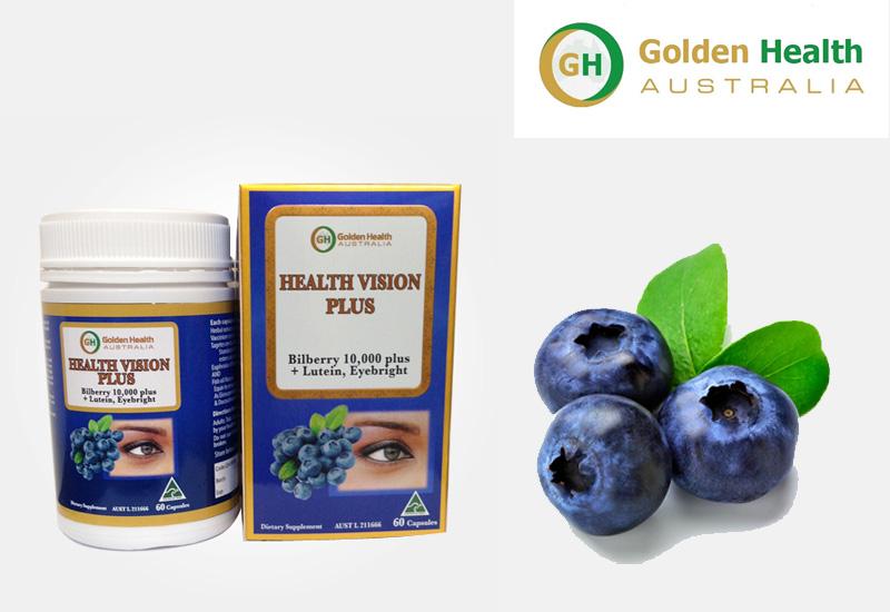 Viên uống bổ mắt Golden Health - Health Vision Plus