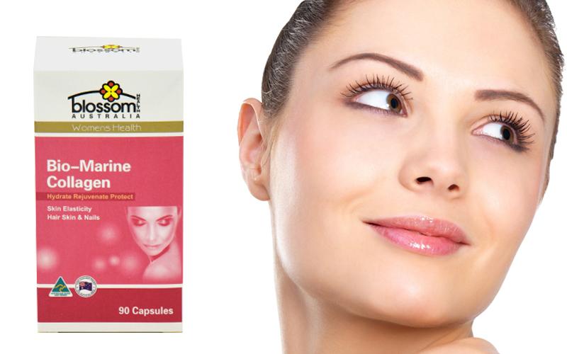 Viên uống Collagen chống lão hóa Blossom 90 viên