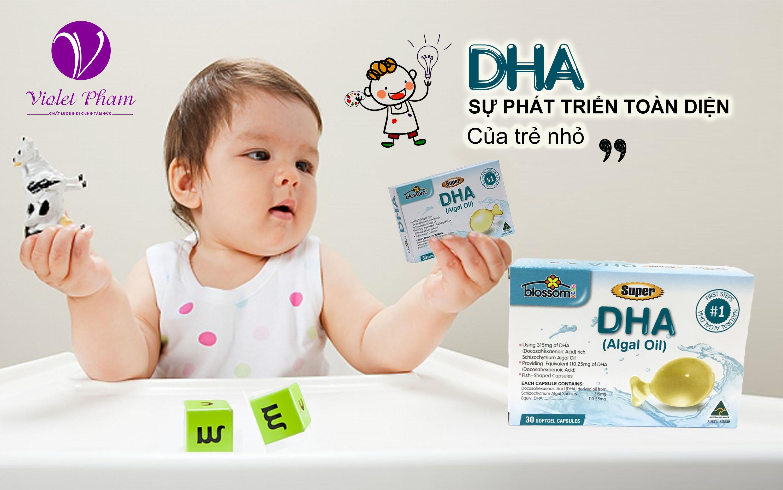 BỔ SUNG DHA CHO TRẺ - BLOSSOM SUPER DHA 30 VIÊN Thông tin sản phẩm