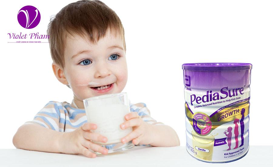 Sữa Pediasure Úc 850g cho trẻ biếng ăn từ 1- 10 tuổi